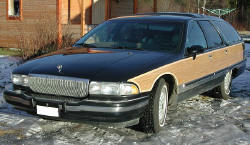 1990 Buick Estate Wagon 1991 Buick Roadmaster Wagon