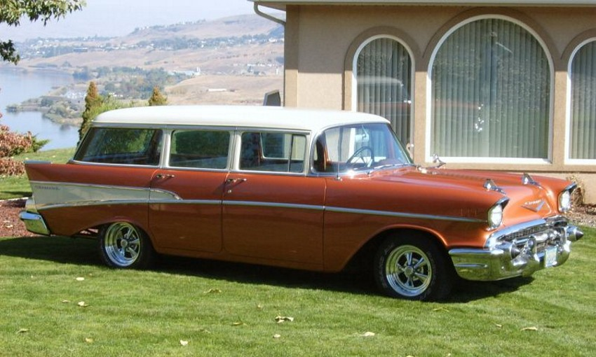 Image gallery 1956 nomad 4 door for 1957 chevy 4 door wagon for sale