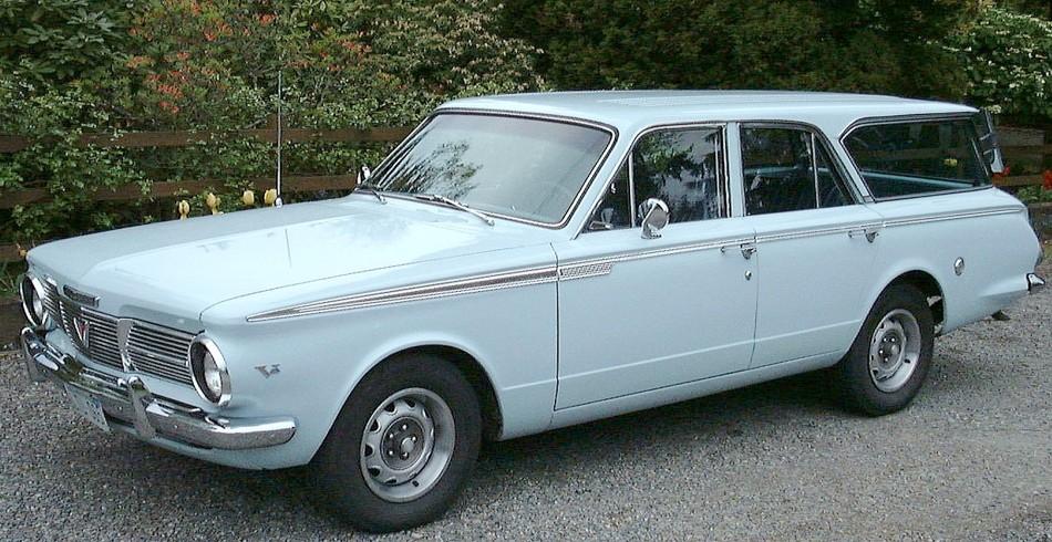 1965 Plymouth Valiant Wagon | CHRYSLER CORPORATION (MOPAR) WAGONS