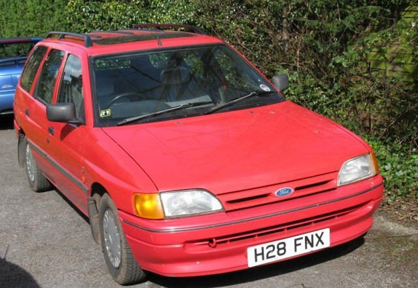 Ford Escort 18 Diesel Escort Mark 4 1986 - carinfcom