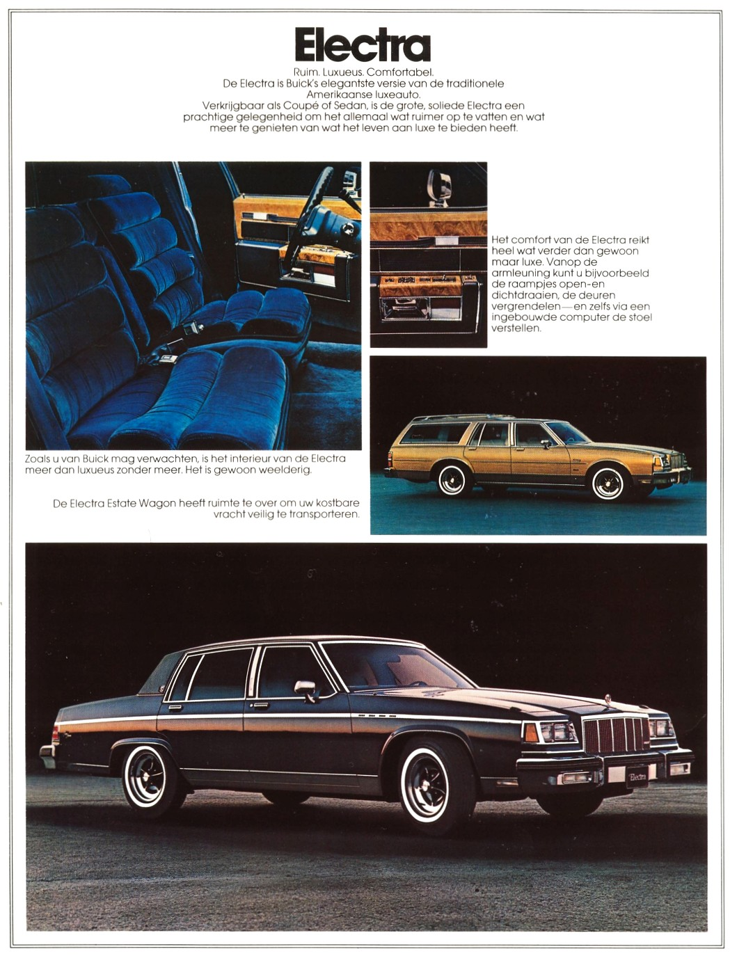 1984 buick electra estate one sheet